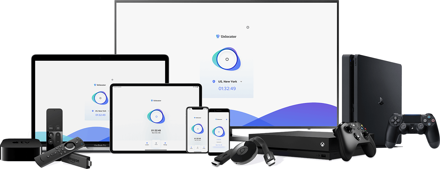 Unlocator VPN & Smart DNS | Privacy, Security and Unblocking in One